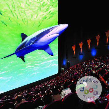 Vizionare film 3D la cinema
